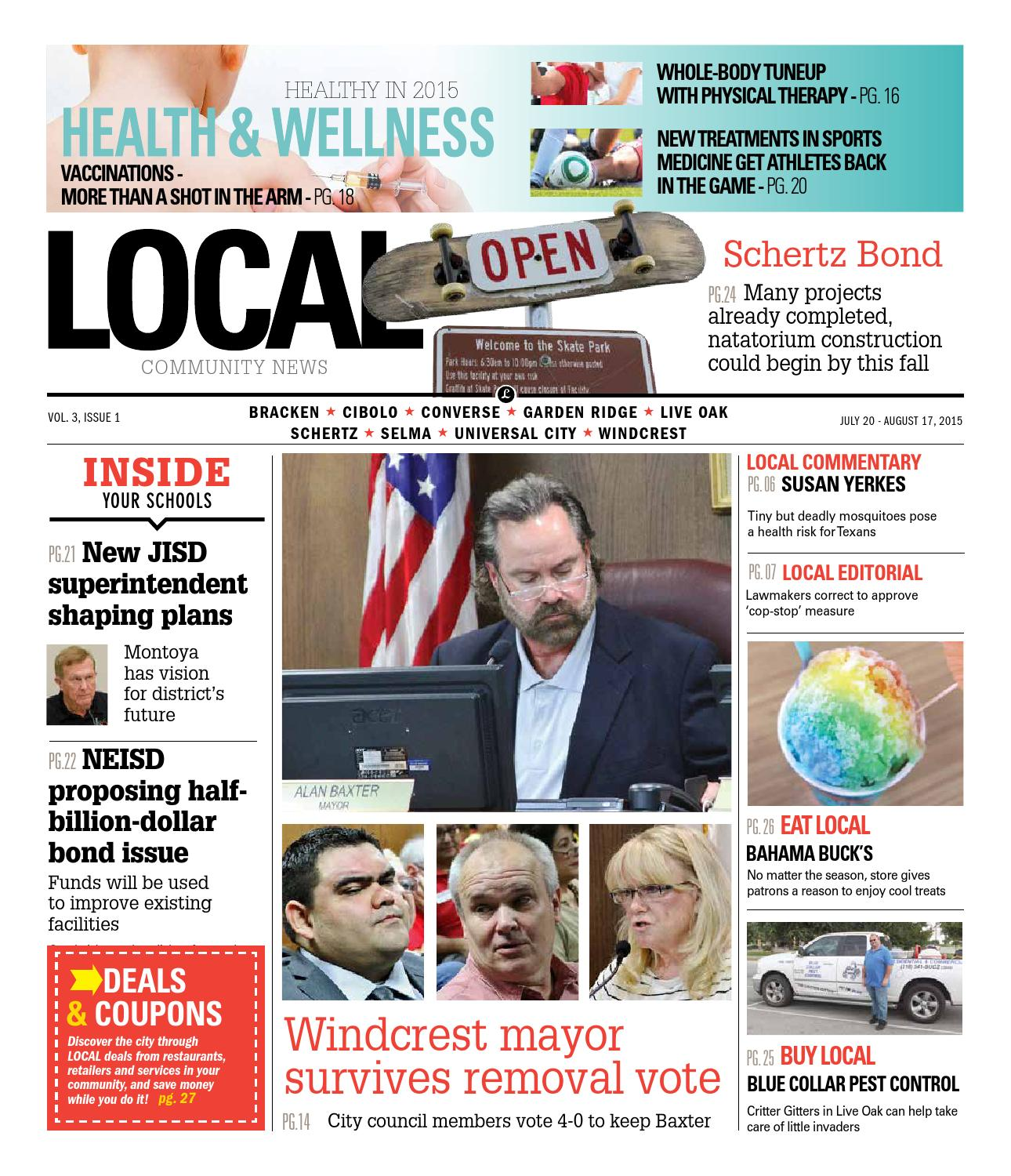 Local Metrocom July 2015 By San Antonio Local Community