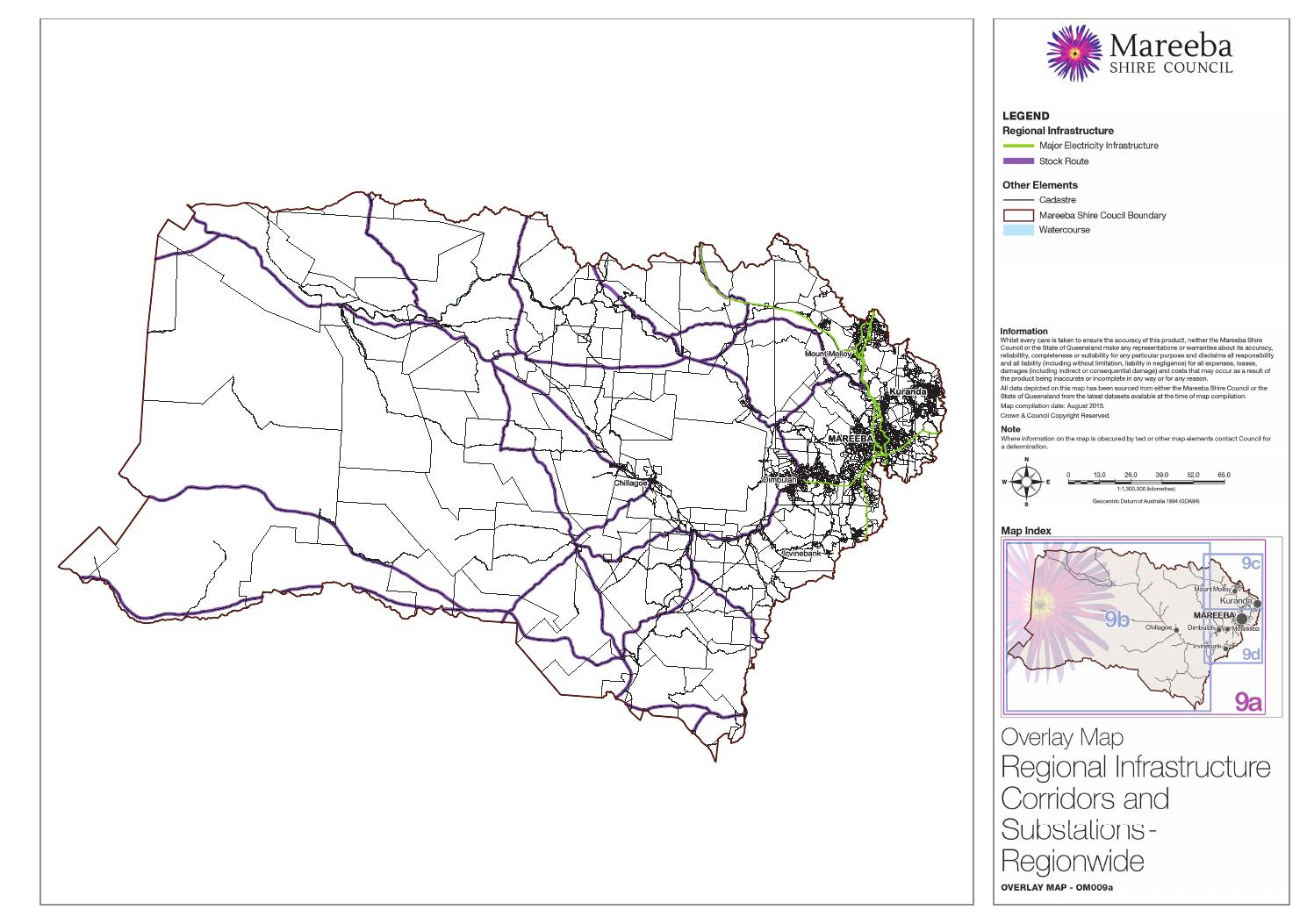 4 Overlay Map 9 Regional Infrastructure Corridors And