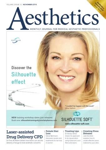 Aesthetics November 2015 by Aesthetics - issuu