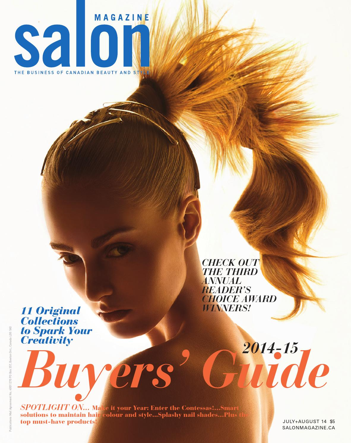 salon magazine july august 2014 by