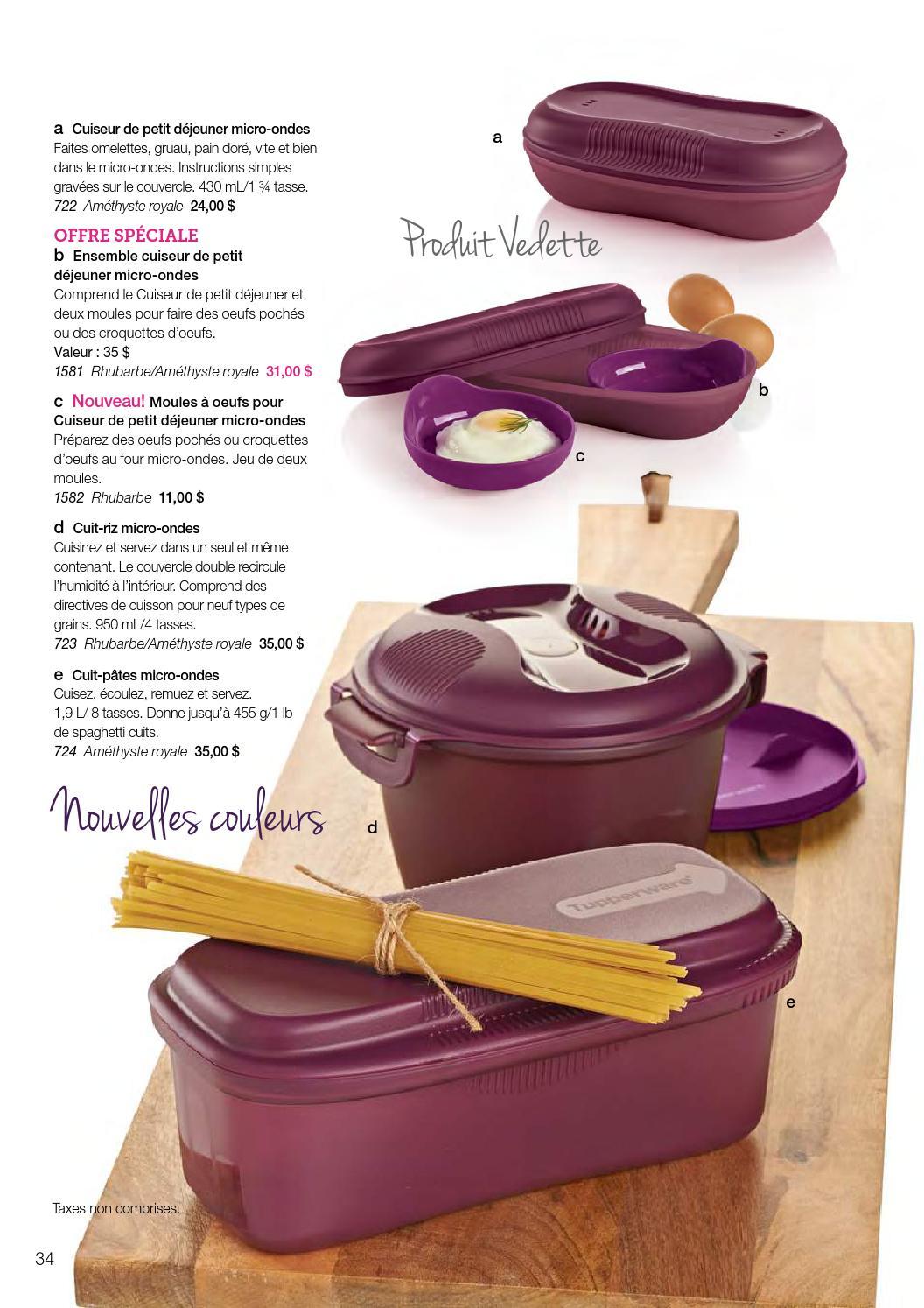 catalogue tupperware hiver printemps