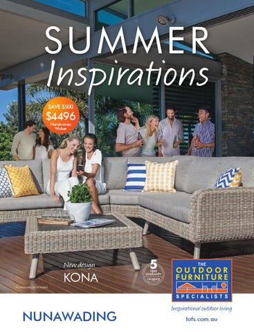 The Outdoor Furniture Specialists Nunawading Summer