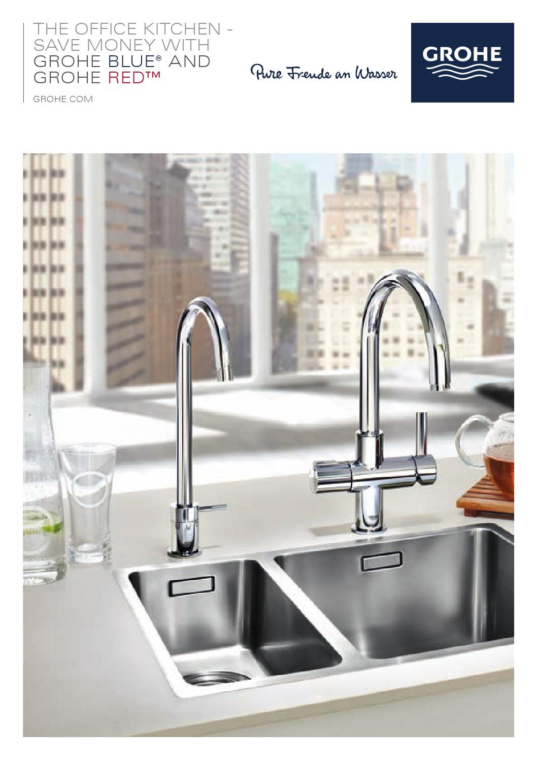 grohe blue and red grohelive by