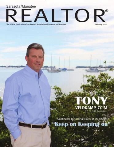 Sarasota Manatee Realtor Magazine RASM February 2016