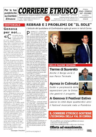 Corriere Etrusco n.135