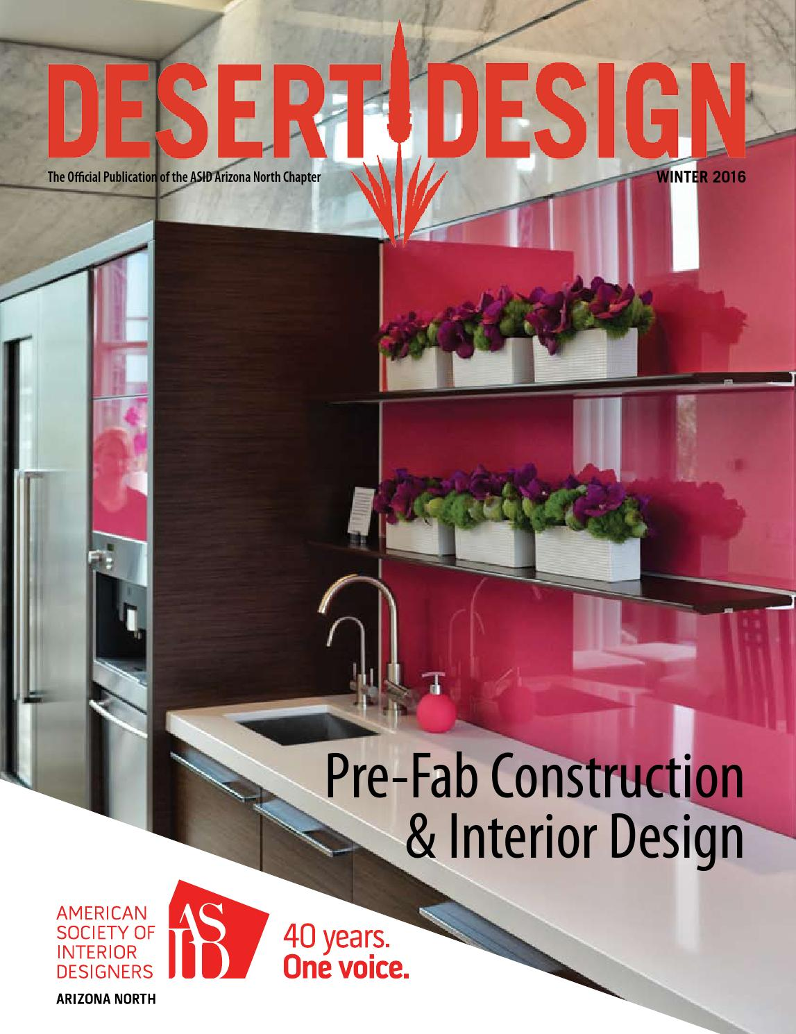 Desert Design Magazine Winter 2016 By Arizona North