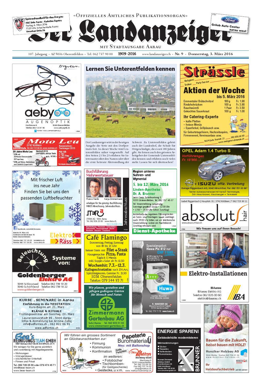 Der Landanzeiger 09 16 By Zt Medien Ag Issuu