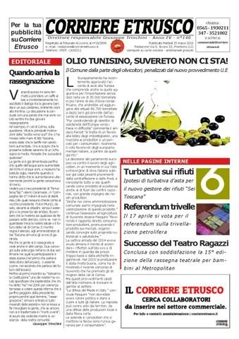 Corriere Etrusco n°140