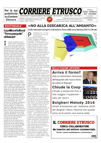 Corriere Etrusco n°141