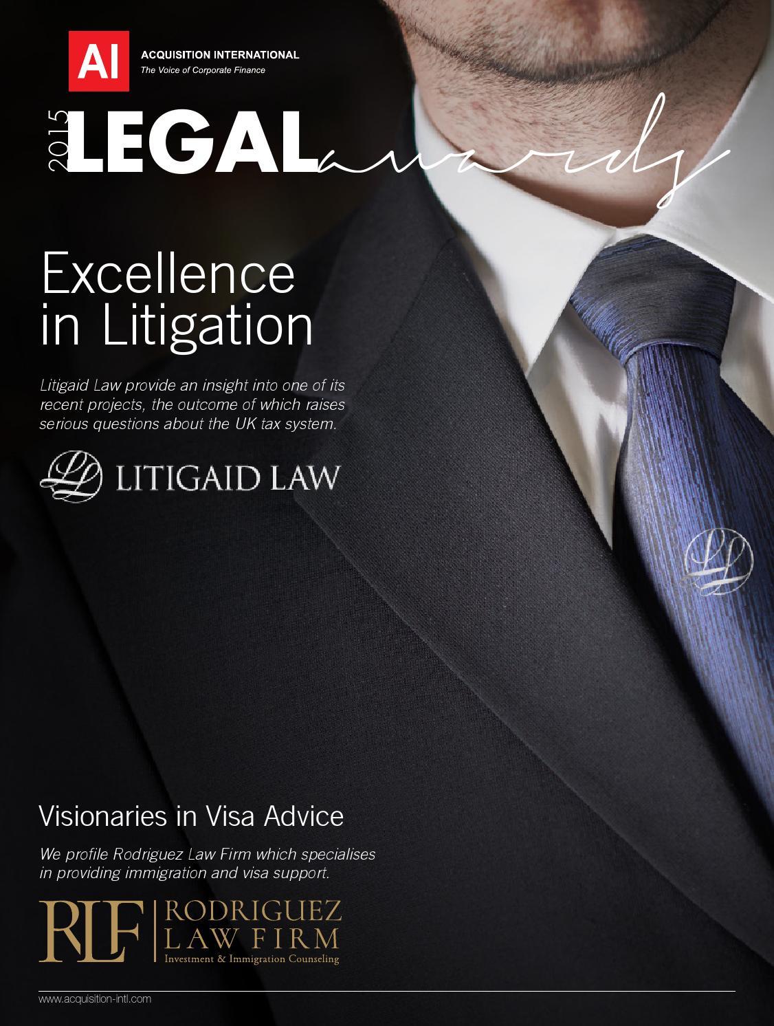 Ai Legal Awards 2015 By Ai Global Media Issuu