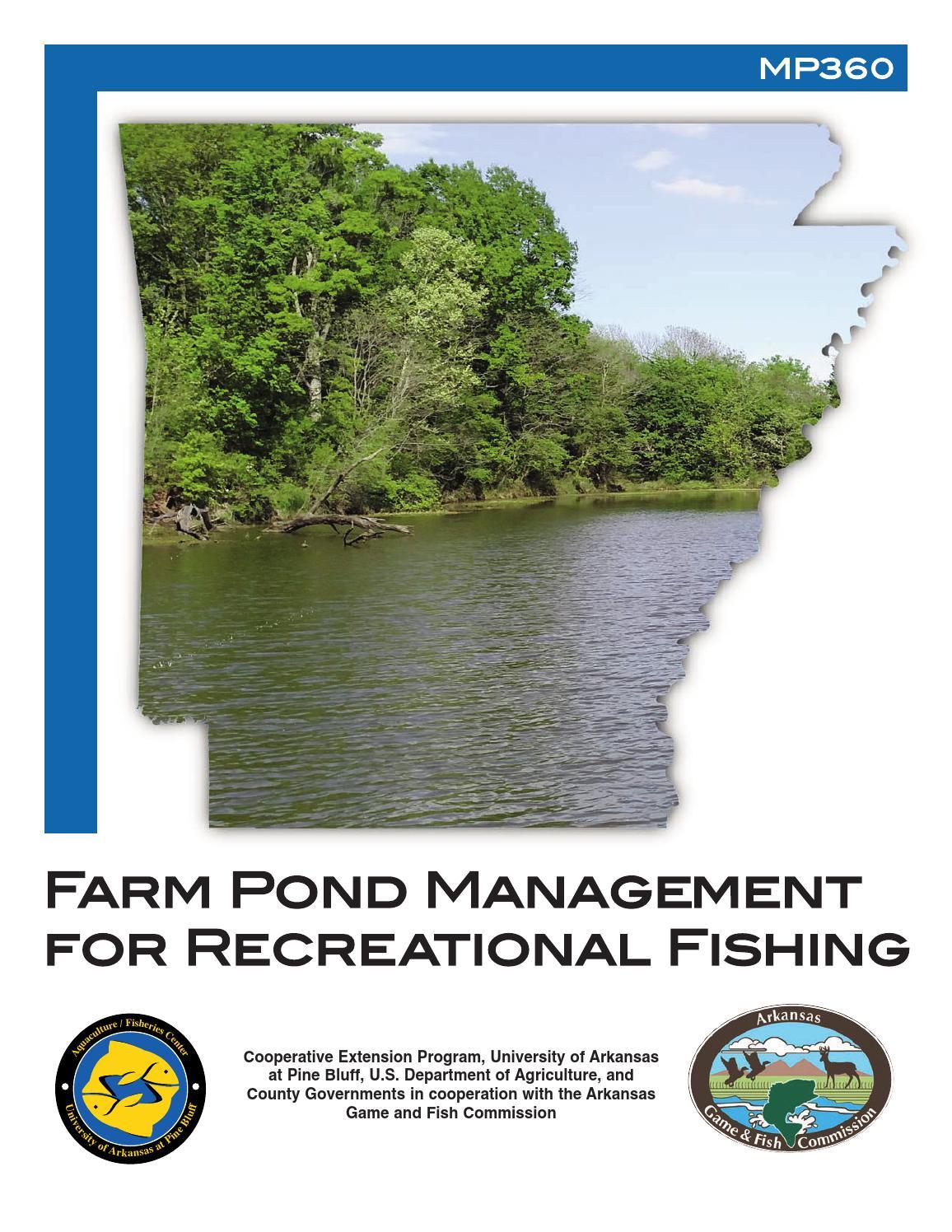 Farm Pond Management Recreational Fishing