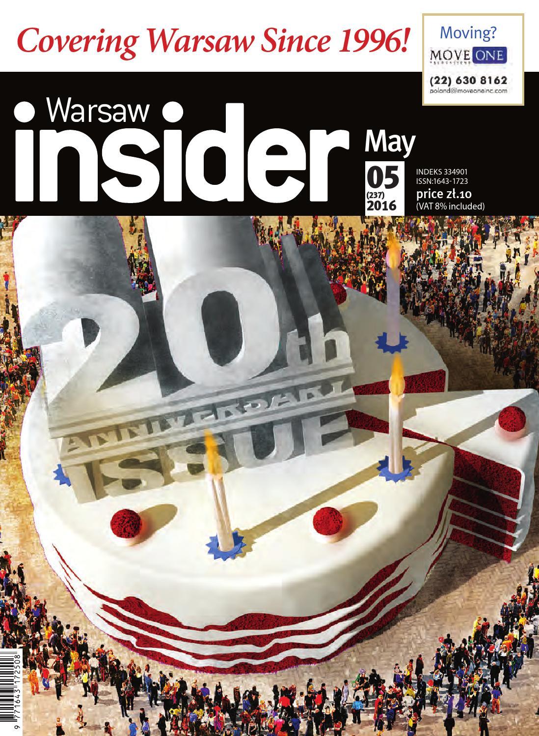 Warsaw Insider May 2016 237 By Valkea Media Pro Issuu
