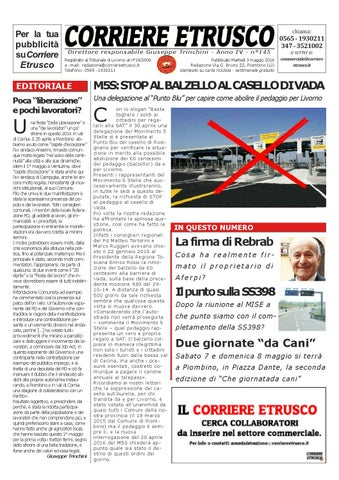 Corriere Etrusco n° 145