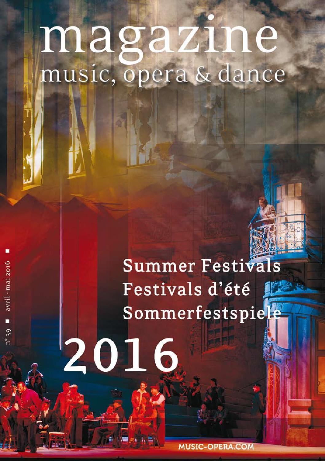 music opera dance festival