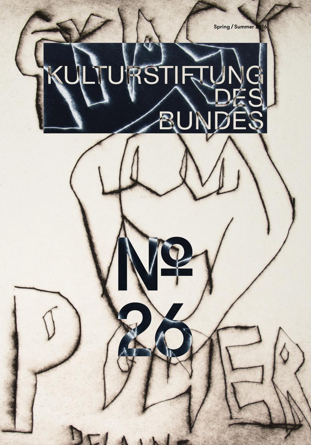 Magazine 26 Of The Federal Cultural Foundation Kulturstiftung