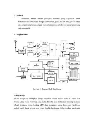 Blok diagram ponsel by Modul Teknisi HP  Issuu
