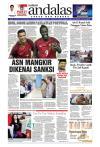 Epaper Andalas Edisi Senin 12 Juli 2016 By Media Andalas Issuu