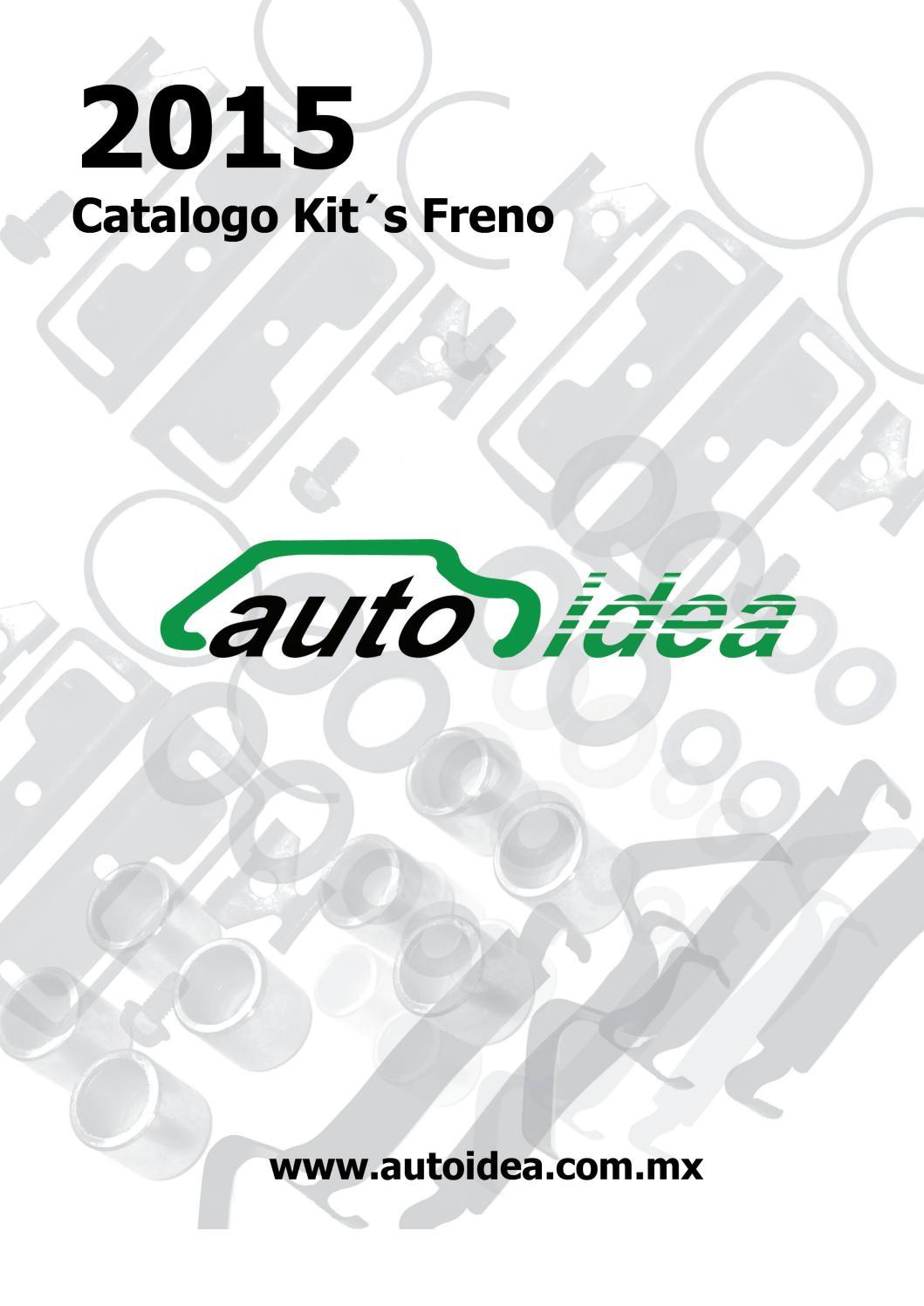 Catalogo kits caliper delantero trasero tambor