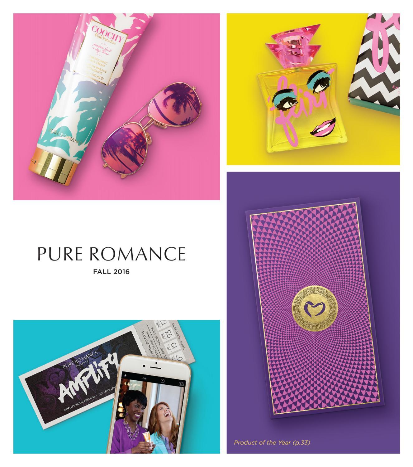 2012 Pure Romance Fall Catalog