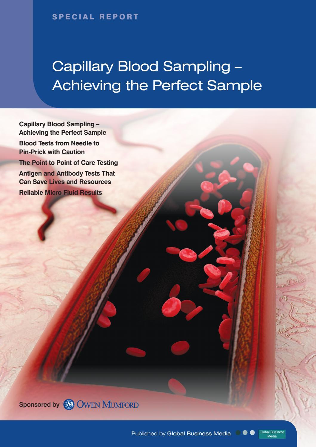 Testing Blood Lancets