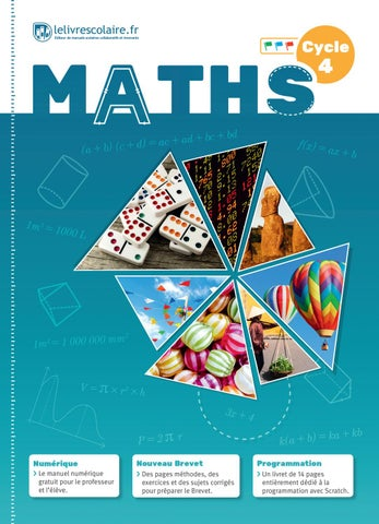 Manuel Maths Cycle4 By Lelivrescolaire Issuu