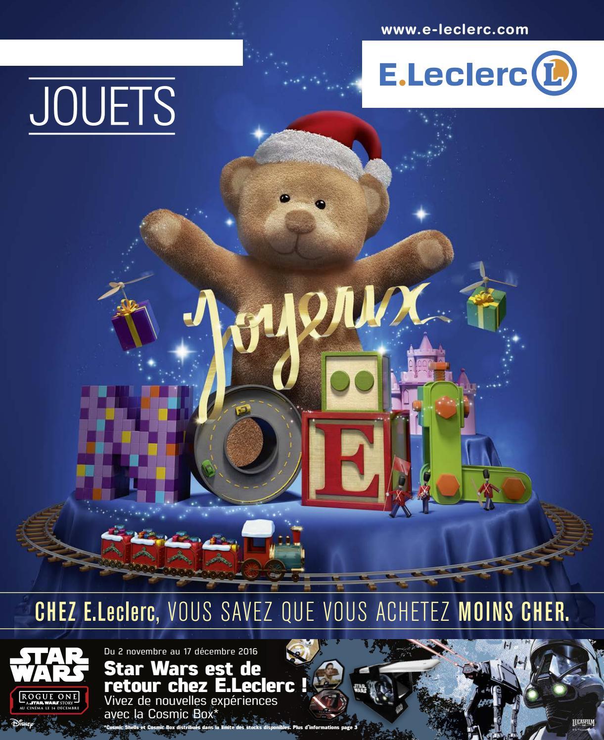 Catalogue E Leclerc Special Jeux Et Jouets Noel 2016 By Lsa Conso Issuu