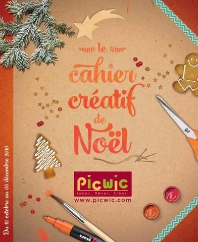 Cahier Créatif Noël 2016 Picwic By Lsa Conso Issuu