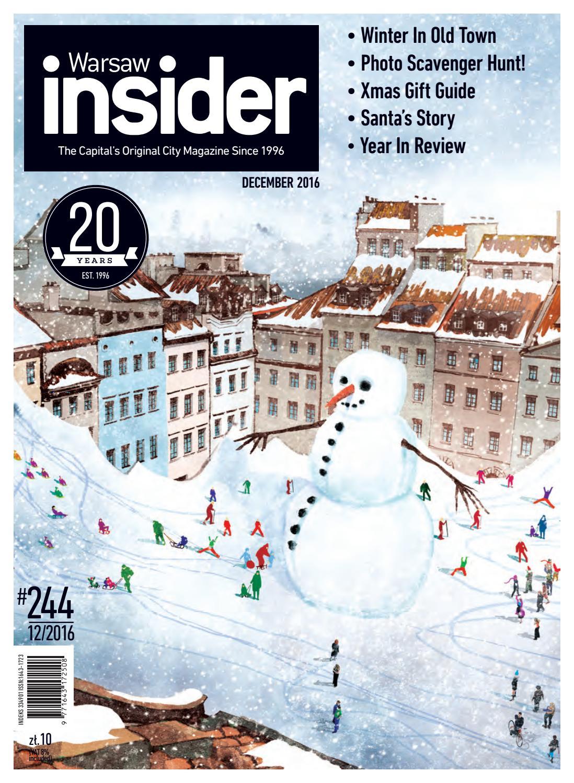 Warsaw Insider December 2016 244 By Valkea Media Pro Issuu