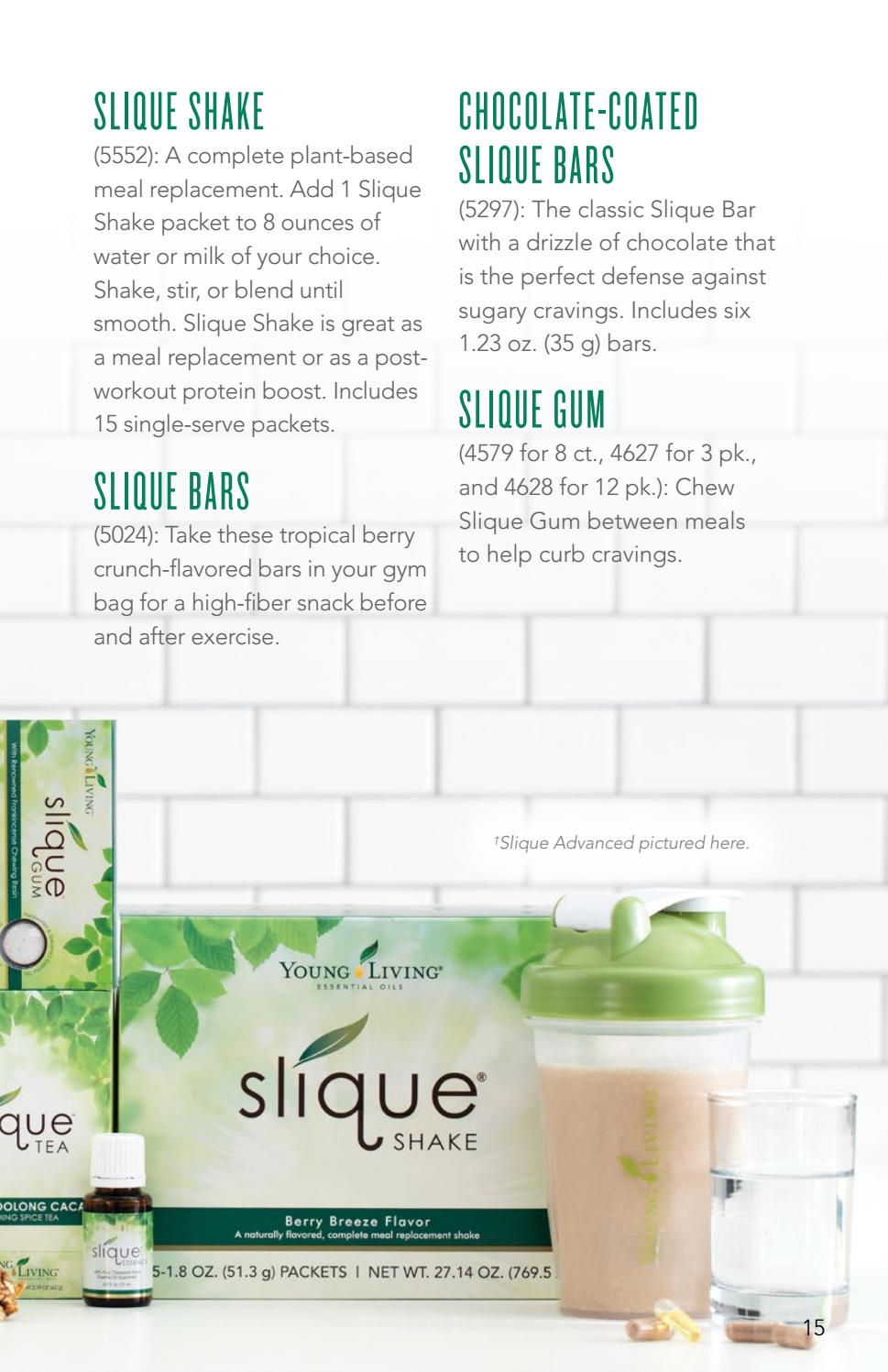 Slique Booklet V1 By Young Living Essential Oils Issuu