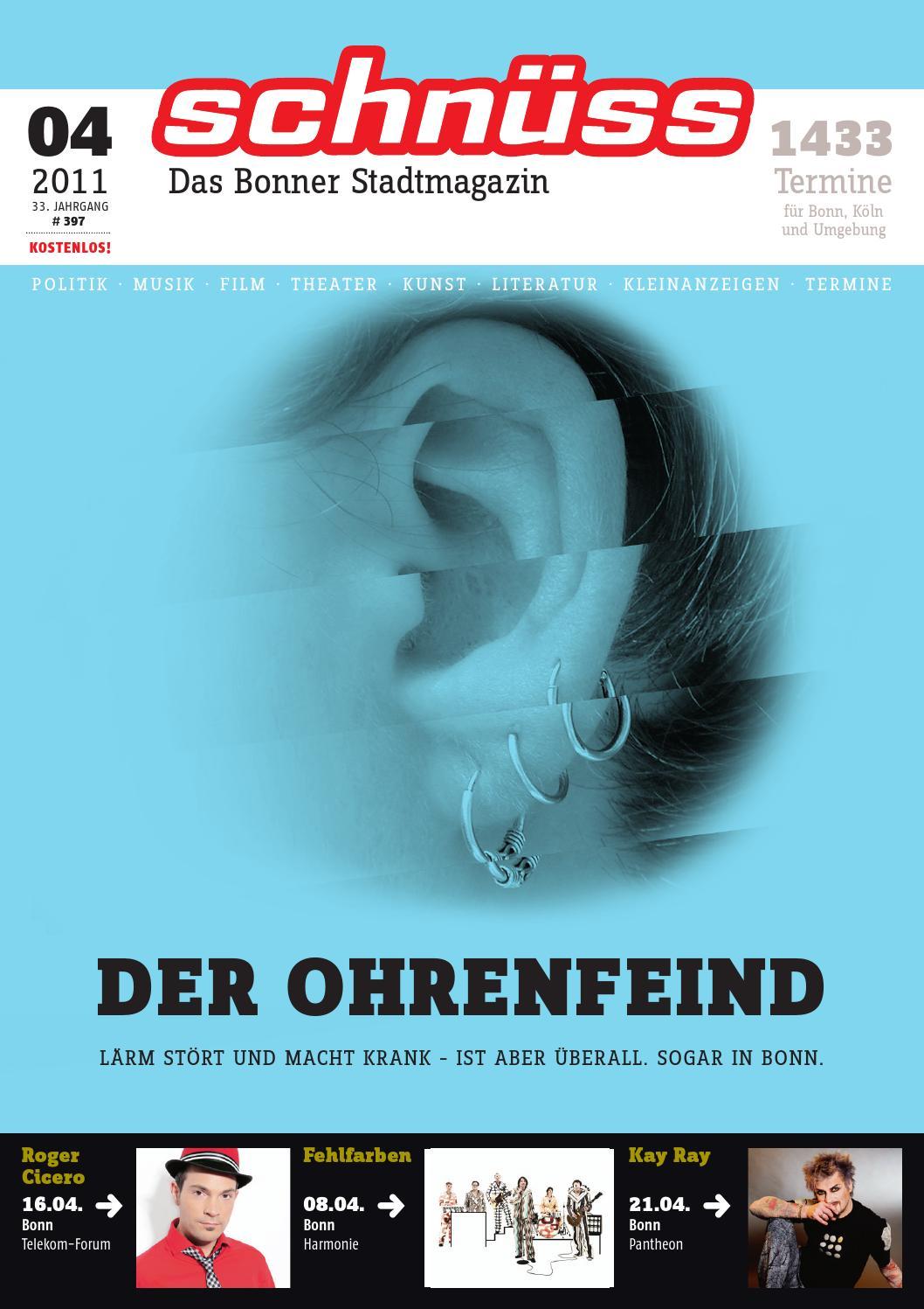 Schnuss 2011 04 By Schnuss Das Bonner Stadtmagazin Issuu