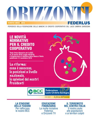 Orizzonti 1 Trim 2017 By Storenlli Alessandro Issuu