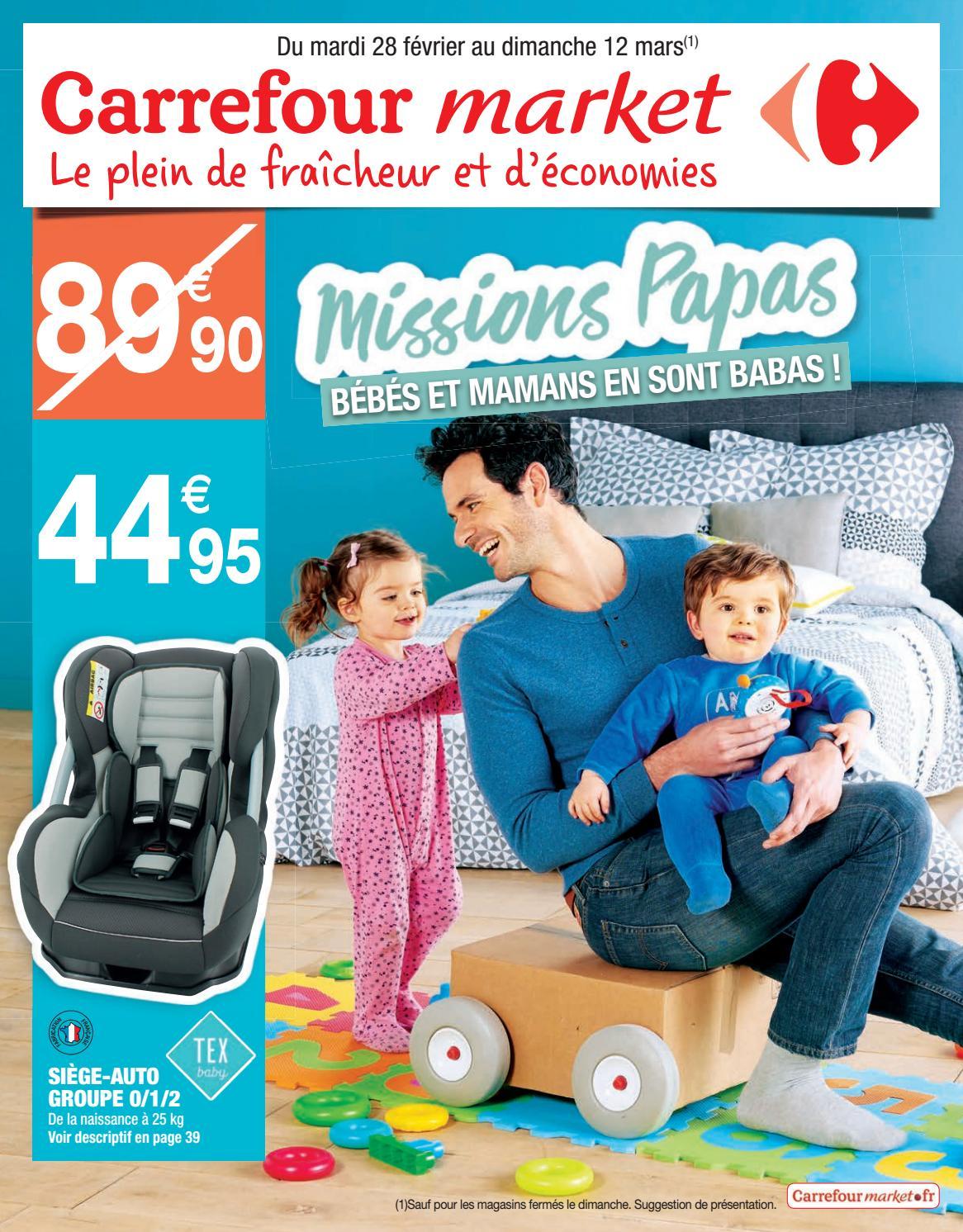 catalogue puericulture carrefour market