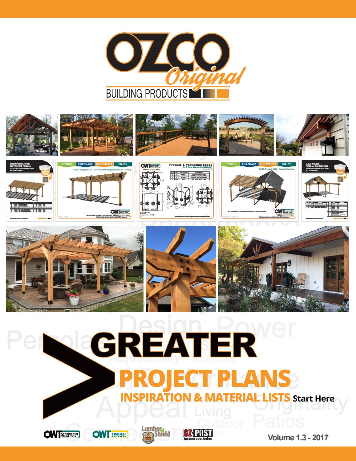 Ozco Project Plan Photo Book Vol 1 By Ozco Building