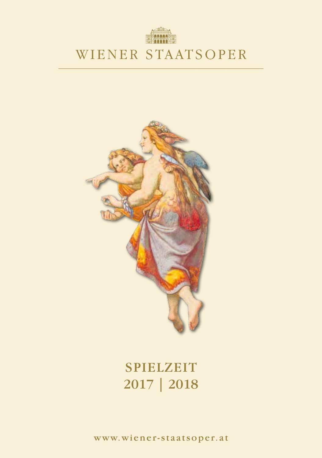 Spielzeit 2017 2018 By Wiener Staatsoper Gmbh Issuu