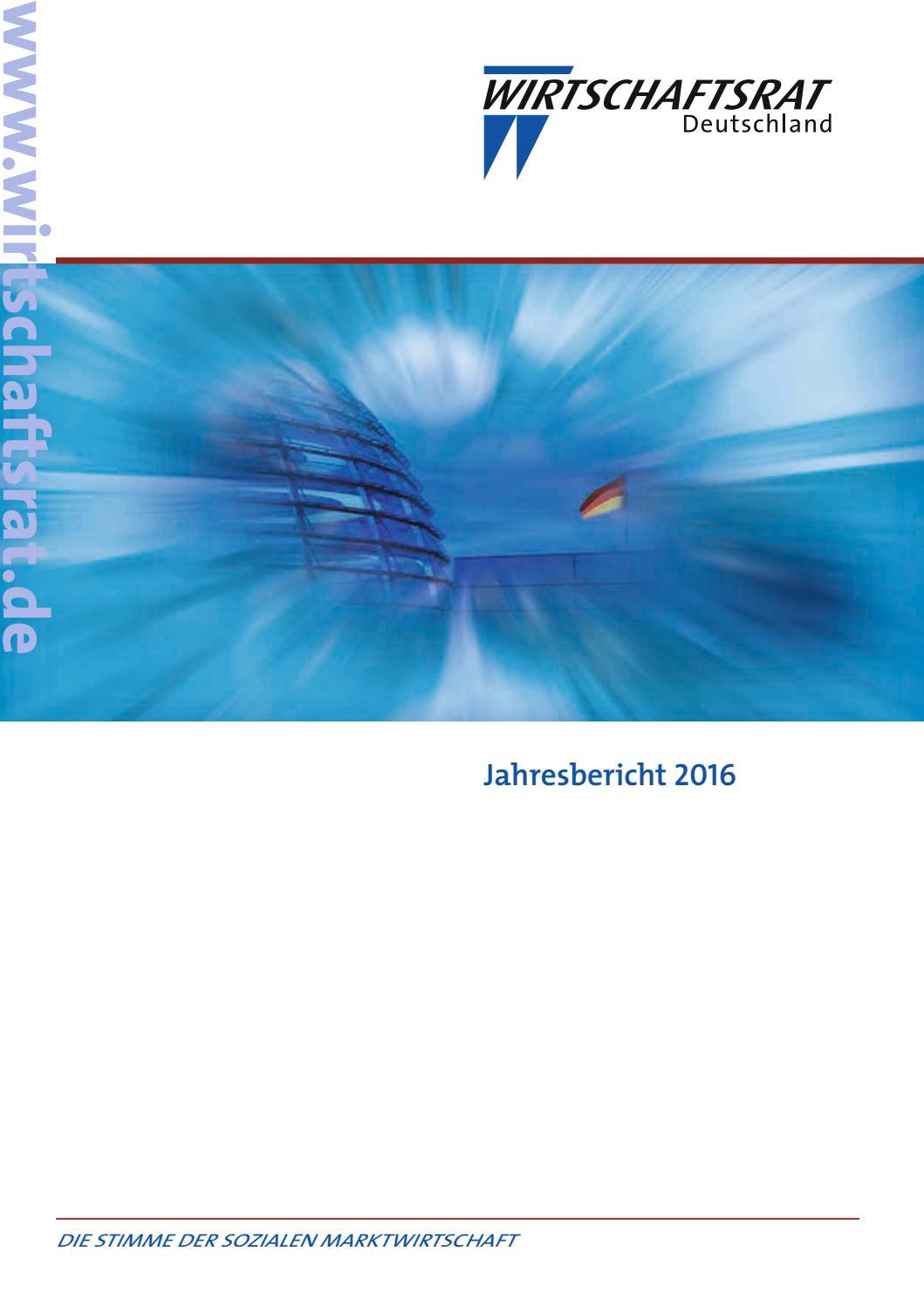 1700962 Wr Jb16 Rgb 150dpi By Wirtschaftsrat Der Cdu E V Issuu