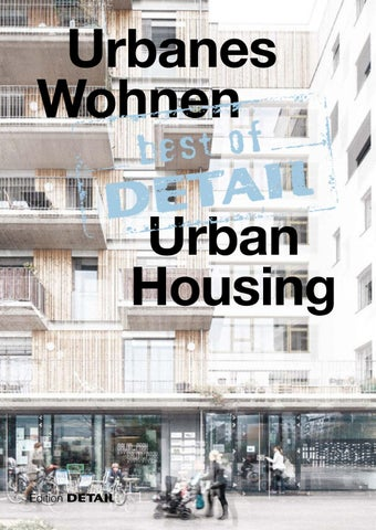 Best Of Detail Urban Housing By Detail Issuu