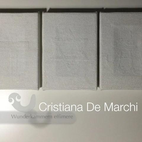 """Cover of """"Cristiana De Marchi"""""""