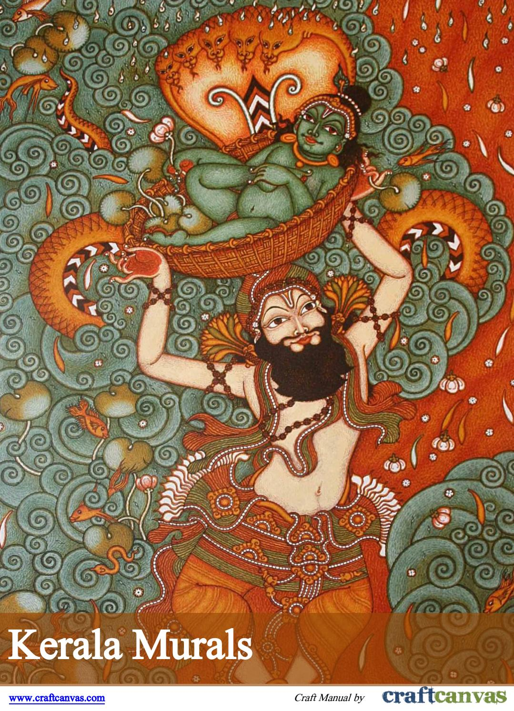 Kerala Murals Craft Manual Craftcanvas 2017 By Craftcanvas