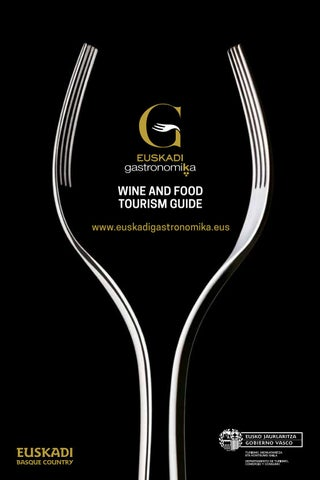 Wine And Food Tourism Guide Euskadi Gastronomika By