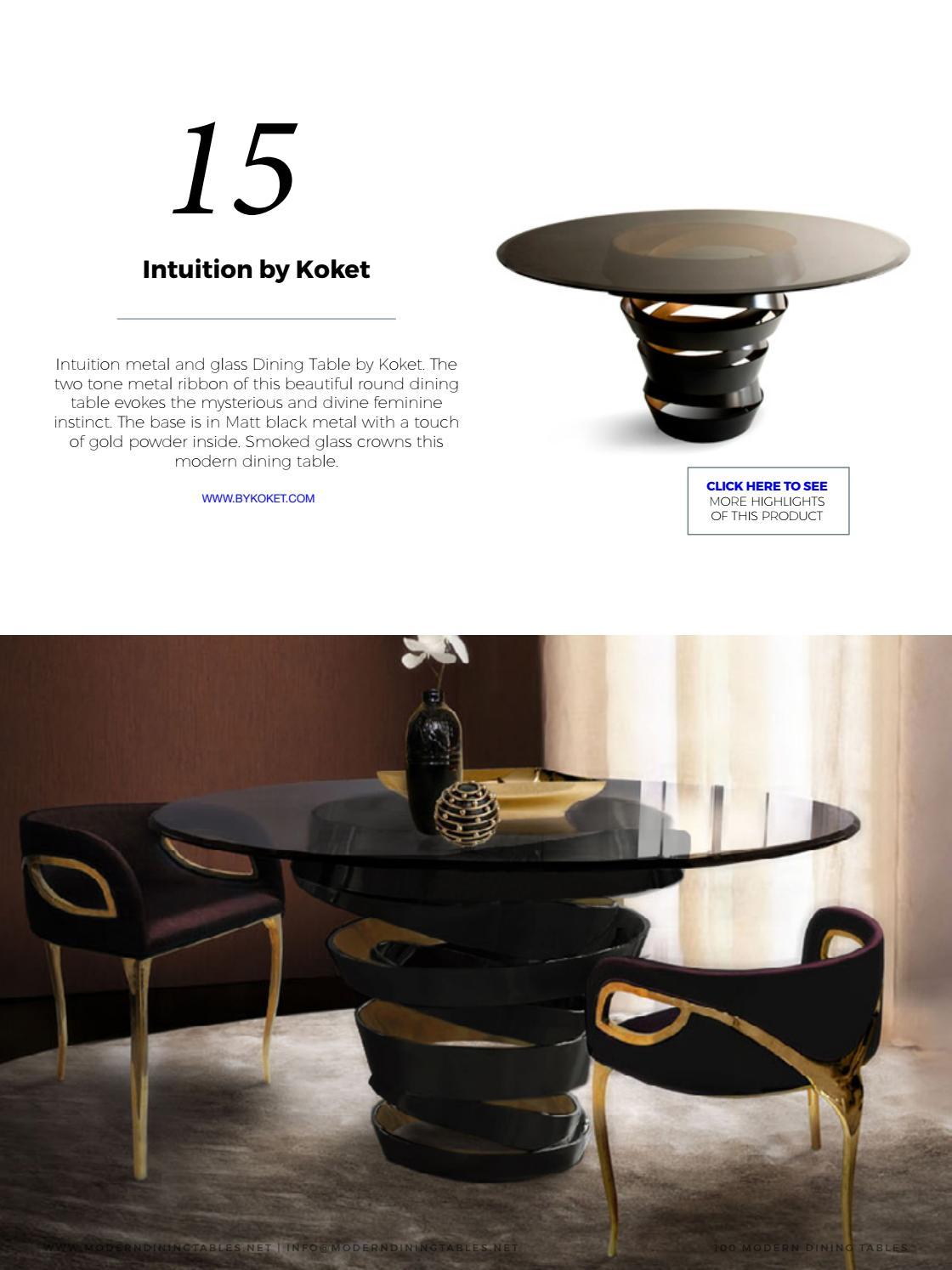 60 Modern Dining Tables Free Ebook By Boca Do Lobo Issuu