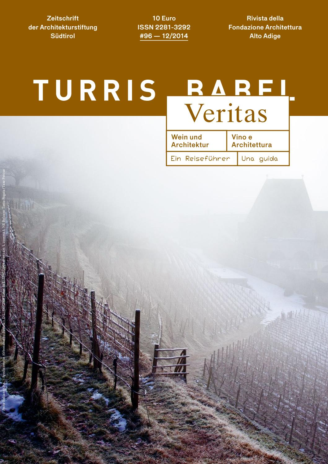 Turris Babel 96 Wein Und Architekturvino E Architettura By