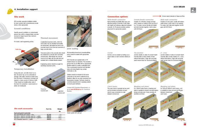 Aco Drainage Catalog By Ram Tool Construction Supply Co Issuu