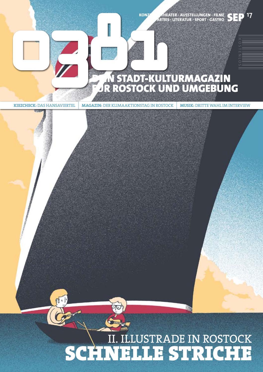 0381 Dein Stadtkulturmagazin Fur Rostock Und Umgebung September