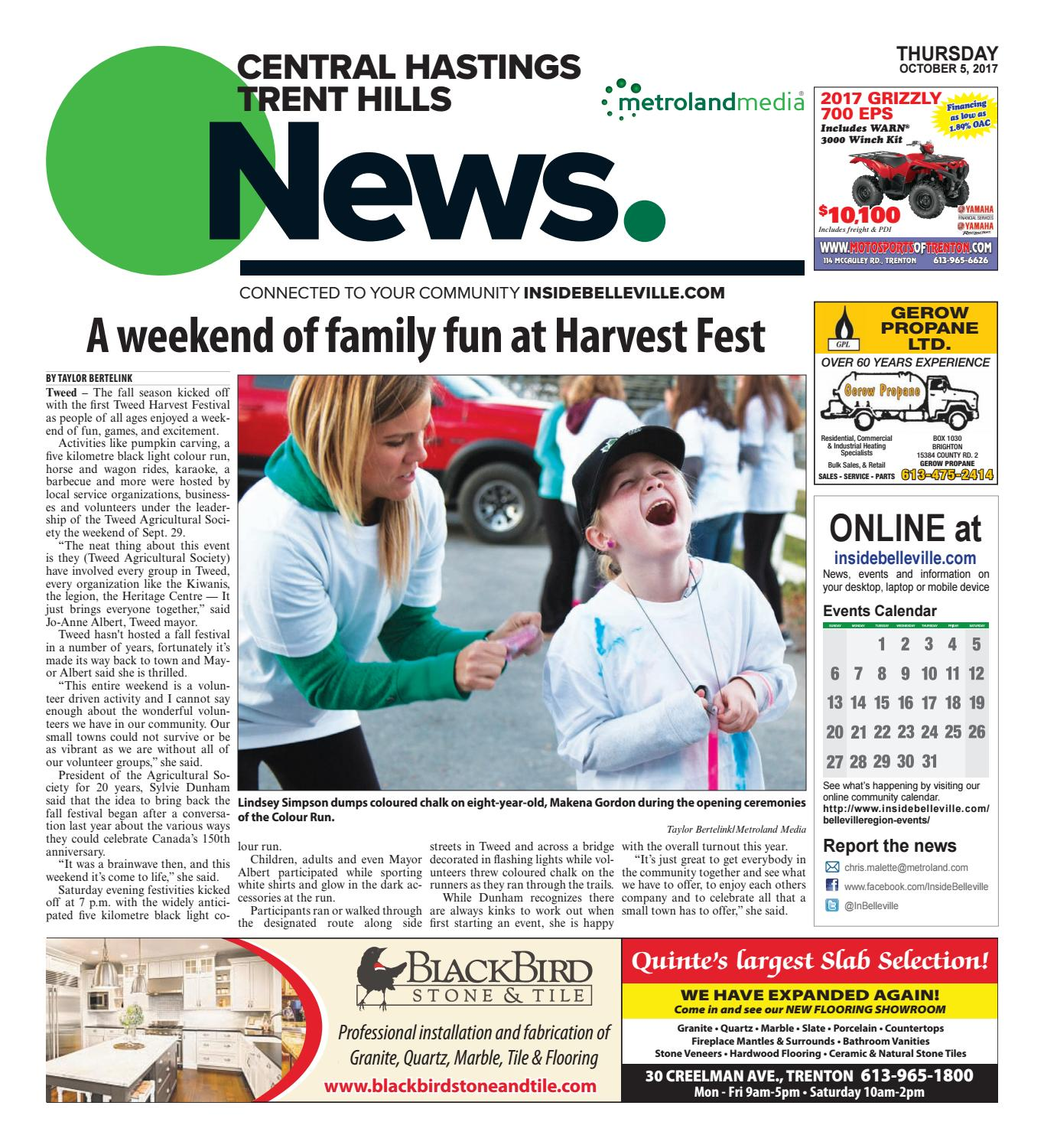 Chth100517 By Metroland East Central Hastings News Issuu