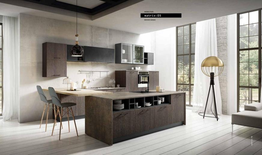 MATRIX cucina moderna / modern kitchen MOBILTURI by ...