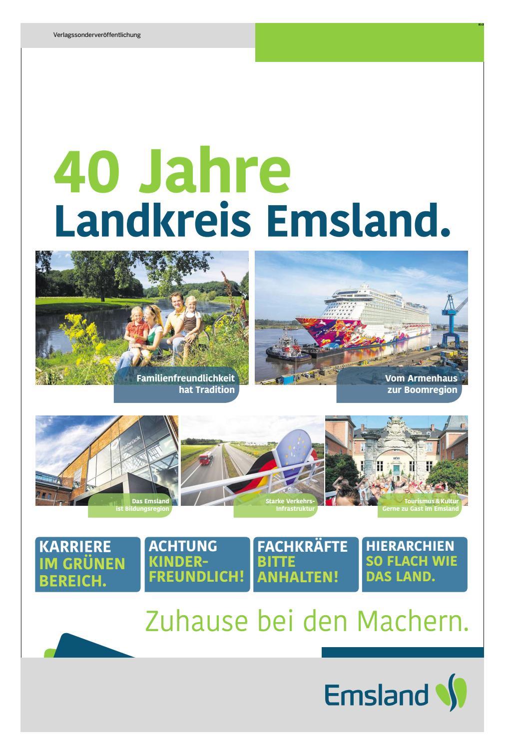 40 Jahre Landkreis Emsland Noz Medien By Neue Osnabruecker