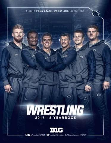 penn state wrestling 2017 18 yearbook