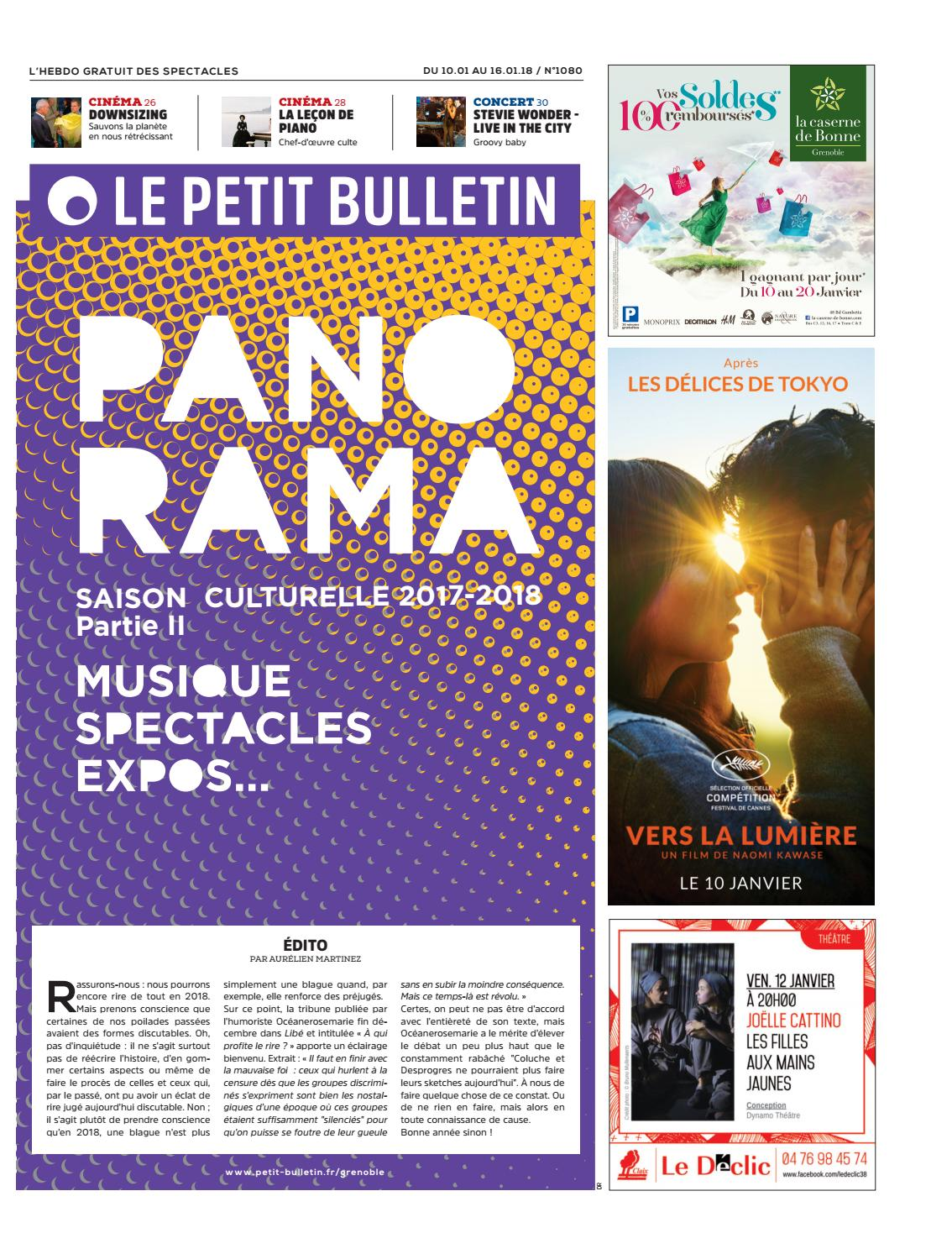 Le Petit Bulletin Grenoble 1080 By Le Petit Bulletin