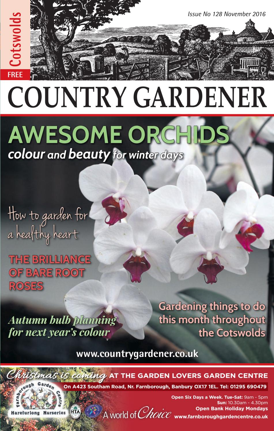 Cotswolds Country Gardener November 2016 By Country Gardener Issuu