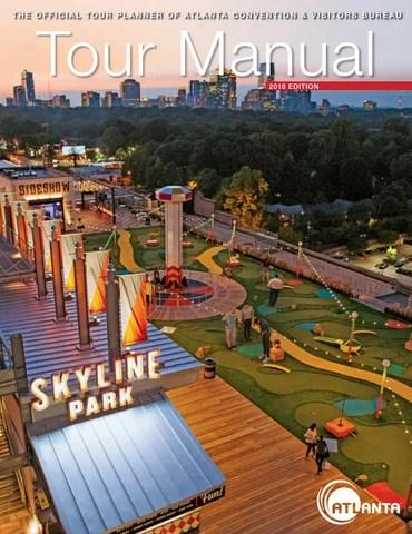 Atlanta Tour Manual 2018 By Atlanta Cvb Issuu